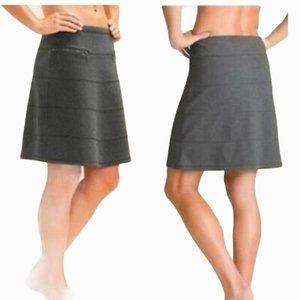 Athleta Strata Skirt in Gray